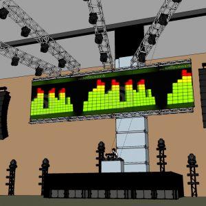 EDM Concert Festival